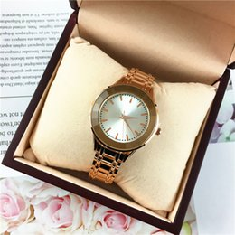 Wholesale Michael Watch Women - Fashion Watches Michael Quartz Watch Luxury Bezel Dial Style Women Wristwatch Crystal Diamond Rome Rose Gold Drop Shipping Best Gifts
