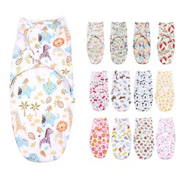 Wholesale baby summer sleeping bag - Hot Sale Summer Swaddleme Baby Sleeping bags Baby Sleepsacks Wraps Infant Baby Swaddling Sleep Bag Cotton Infant Cotton Wrap Bags