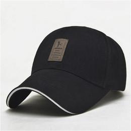 Wholesale caps logo wholesale - EDIKO And Golf Logo Cotton Baseball Cap Sports Golf Snapback Simple Solid Hats For Men Bone Gorras Casquette Truck driver cap