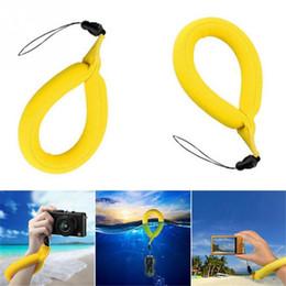 sangle de téléphone pvc Promotion 2018 New Floating Wrist Strap PVC Anneau de bain Strap Drift Mini Anneau Gonflable pour Téléphone Utilisé avec l'eau de téléphone portable
