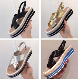 Wholesale Lace Up Closed Toe Wedges - Hot Sale! Stella Mccartney Shoes Top Quality Genuine Leather Women Fashion Platform Wedge Platform Oxfords Boost Sneakers 33020