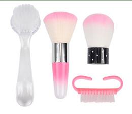 Nagel-Staub-Reinigungs-Nagel-Bürsten-Werkzeug-Nagel-Kunst-Sorgfalt-Maniküre-Pediküre-Weiche entfernen Staub-sauberes Make-upbasis-Werkzeug von Fabrikanten