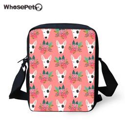 7b6a0f0d50 2019 sac de corps pour chien WHOSEPET enfants petits sacs messenger mignon  Bull Terrier femmes sac