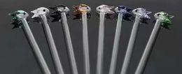 2018Color маленькая рыба соломы стеклянные бонги аксессуары, стеклянные курительные трубки красочные мини многоцветные ручные трубы Лучшая ложка стеклянная труба от