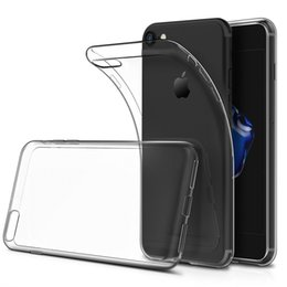 Wholesale Crystal Silicone Case - Ultra Thin for Iphone X Iphone 7 8 Plus Iphone 6S Plus Case S8 S7 Edge Crystal Clear TPU Silicone Soft Cover