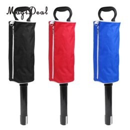 Wholesale Easy Golf - wholesale Hot Sale 3 Color Zipper Deluxe Shag Bag Golf Ball Collector Hold Up to 50 Balls Easy to Pick Up Ball Without Bending