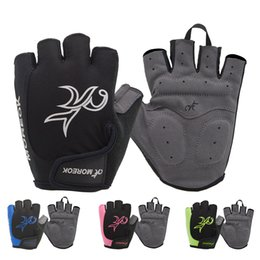Wholesale Glove Paintball - Outdoor Airsoft Hunting Paintball Non-slip gloves Gym Gymnastics Training Sports Gloves Bike Cycling Half finger gloves Free delivery