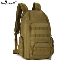 b106520136da 2019 mochila de pesca SINAIRSOFT Tático 40L Mochila de 15 Polegadas de  infantaria Laptop embalar Homens
