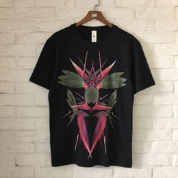Wholesale Black Paradise - Best Quality Bird of Paradise Printed Women Men T shirts tee Hiphop Streetwear Brand Designer Men Cotton T shirt 2018