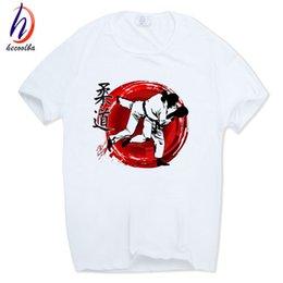 Wholesale Purple Mma Shorts - Men's Evolution Of A judo Fashion T-shirt harajuku hip-hop Short sleeve O-Neck Fitness mma Camisetas Tshirt HCP402