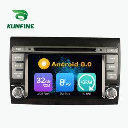 bluetooth bluetooth Promotion Octa Core 4 GB RAM Android 8.0 Voiture DVD GPS Navigation Lecteur Multimédia Voiture Stéréo pour Fiat Bravo 2007-2012 Radio Headuint Wif