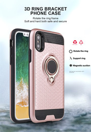 складная подставка для iphone Скидка 3D-Складная подставка-кольцо-кронштейн случаи TPU+PC применить к магнитному держателю задняя крышка для iPhone X/10/8/8+/7/7+/6/6+/5 LG G6/LV3/LV5
