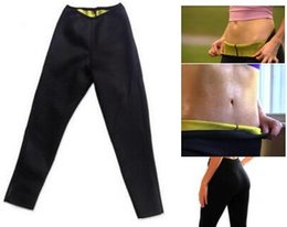Wholesale Trousers For Womens - 1pc Hot Womens Beauty Yoga Gym Leggings Pants For Woman Super Elastic Sexy Slim Sports Fitness Leggings Self heating Body Pencil Trousers