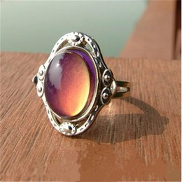 Wholesale Christmas Presents For Kids - whole saleDropshipping   Mood Ring Temperature change color  Present for christmas gifts for kids Adjustable Size Ring