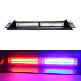 Wholesale 24v police lights - 1Pcs LED COB Windshield Warning Light Car Flash Light Police Emergency Flasher 36W Strobe Lamp Red Blue Yellow 12V 24V