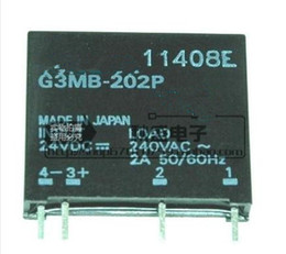 solid state relays wholesale Canada - (10PCS) solid state relay G3MB-202P24VDC 4 feet 2A quality assurance