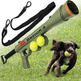 Wholesale Remote Pet Training - Pet supplies toy training exercise dog launcher remote speed targeting tennis gun launcher,dog's throwing toys