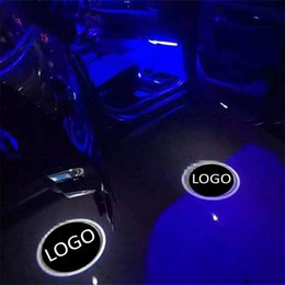 2019 lexus levou luzes Para lexus para Porsche 2 xled 4 de alta qualidade 12 v led luz do logotipo da porta do carro bem-vindo lâmpada auto projetor laser luz lexus levou luzes barato