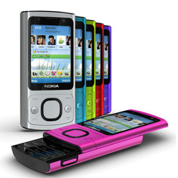 Wholesale cell slides - Refurbished Original Nokia 6700S 6700 Slide Unlocked Phone Symbian OS 2.2 inch Screen 5.0MP Camera GSM 3G Cell Phone Free DHL 10pcs