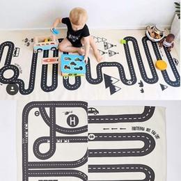 Creative Bébé Car Play Tapis Enfant Jeu Gym Activité Jouer Aventure Racing Ramper Couverture Sol Tapis Tapis Éducatifs Cadeaux J ? partir de fabricateur
