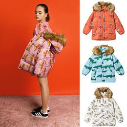 Argentina Ropa de bebé niña 2018 parka de invierno para niñas Bobo Choses Abajo chaqueta niños chaqueta de invierno para niño hugo ropa infantil Suministro