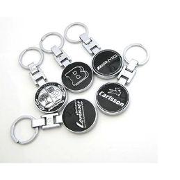 lexus schlüssel fob Rabatt Mercedes Benz A45 GLC GLA C E KLASSE B AMG Apfelbaum Carlsson LORINSER Logo Abzeichen Schlüsselring Schlüsselring Schlüsselanhänger Schnalle