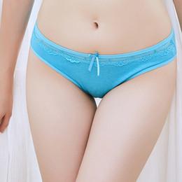2020 paquete sexy caliente Paquete de 12 bragas de señora con cordones de algodón bragas cortas para mujeres Ropa interior de niña sexy con lencería SizeM L XL (