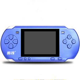 Wholesale rs 15 - CoolBaby RS-15 Handheld Game Console 3.2 inch Children Game Machine Classic Game PSP Support AV Double Player