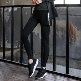 0eda11446da HY SEVEN 2 In 1 Yoga Long Pants For Women Fitness Trousers Gym Leggings  Running Sport Tights Girl Female New Arrival