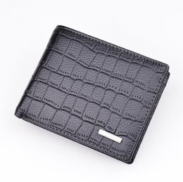 Wholesale Bead Sellers - Best Seller Men's Leather Luxury wallet fashion men's wallet portable leather leather wallet brand package discount promotional wallets