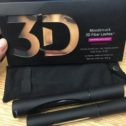Wholesale Double Mascara - SAMPLE hottest seller New 1030 version 3D Fiber Lashes Waterproof Double Mascara 3D FIBER LASHES Set Makeup Eyelash free shipping