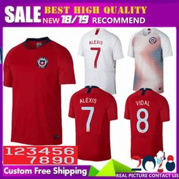 e6db3a9ac2f soccer jerseys thai free shipping Promo Codes - Free shipping Thai quality  2018 Chile jersey World