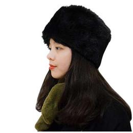 c9d2a86c90a desire  50 creative new style Decoration Explosion Fashion Women Winter Hat  Keep Warm Faux Fur Headgear Snow Hat Cap