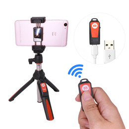Wholesale Benro Tripods - BENRO MK10 Selfie Stick Tripod Stand 4 in 1 Extendable Monopod Bluetooth Remote Phone Mount for iPhone X 8 Android