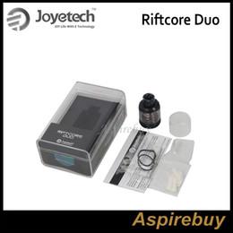 Atomiseurs joytech en Ligne-Joytech Riftcore Duo Atomizer Technologie de chauffage par molécule de 3,5 ml Applicable avec un chauffage RFC uniquement