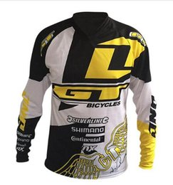 Wholesale gt xl - Wholesale for GT motorcycle Jersey moto gp motocross MTB DH MX Jersey Bicycle Cycling Bike downhill Jersey Fast Dry Smooth K