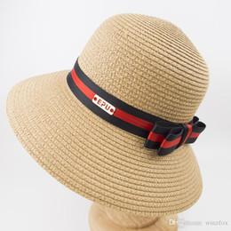 4d539efb2f PP Braid Paper Straw Style Vintage Ladies Women Summer Bucket Hat para  Garden Outdoor Sunny Beach Vacation Womens Hat EPU-MH1841
