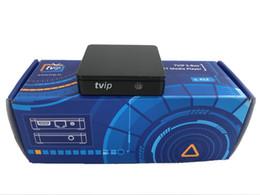 Портативный MINI IPTV BOX TVIP 412 Медиа-плеер Linux Поддержка M3U Список Stalker EPG Youtube Airplay TVIP410 415 2.4 / 5G Wi-Fi STB от