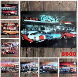 Wholesale Garage Wall Art - 20*30cm Vintage Metal Wall Decor Metal Plaque Sign Poster Plaque Bar Pub Club Art Garage Home Plate EEA113
