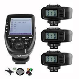 Wholesale i n - Godox XPro-N TTL 2.4G Wireless Flash Trigger LCD Transmitter + X1R-N Reveiver HSS i-TTL Remote Controller for Nikon DSLR Cameras