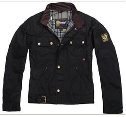 Подставка для ковша онлайн-высокое качество мужская куртка стенд воротник тонкий короткое покрытие водонепроницаемый покрытие масло ковш новая мода мужская куртка