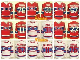 Argentina Mujeres Montreal Canadiens Jerseys Invierno Clásico Hockey 11 Brendan Gallagher 27 Alex Galchenyuk 31 Carey Price 67 Max Pacioretty 76 PK Subban supplier winter classic jerseys montreal Suministro