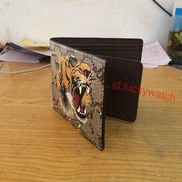 Wholesale Gift Bags Ties - 2018 Hot sale! brand men short Wallet, classic fashion male patchwork purse with coin pocket &card holder designer wallet with gift box