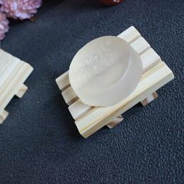 Canada Savon en bois plat bois savon porte-bac de stockage titulaire bain douche plaque de bain accessoires livraison gratuite ZA5956 cheap bathroom storage racks Offre