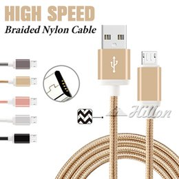 Wholesale Data Charging Cable Micro - 1M 2M 3M USB Cable High Speed USB Charging Charger 56K Ohm Resistor Cooper Data Sync USB C Cable Type C Cord for Universal Cellphones