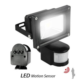 Wholesale Flood Sensors - 100w led floodlights PIR Infrared Motion Sensor 10W 20W 30W 50W led flood lights waterproof outdoor led wall pack lamps ac 110-240v