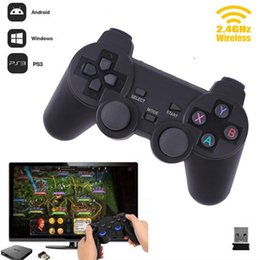 Wholesale hot ps2 - Cewaal Hot 2.4G Wireless Gamepad PC For PS3 TV Box Joystick 2.4G Joypad Game Controller Remote For Xiaomi Android PC