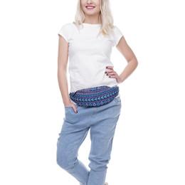 telefone impresso 3d Desconto Novo 3D Colorido Pacote De Cintura para As Mulheres Fanny Pack Impresso Cross Body Bag Mulheres Cinto De Dinheiro Viajar Saco Do Telefone Móvel