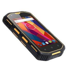 Wholesale hummer gps - 2018 New IP67 Waterproof phone Shockproof Dustproof Rugged Android 5.1 Smartphone Hummer H5 MTK6582 Quad Core 1GB RAM Mobile Phone GPS