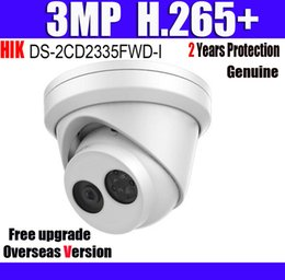 camera ds Coupons - DS-2CD2335FWD-I 3MP H.265+ IP67 POE CCTV IP Camera Ultra-Low Light Turret POE Network Camera with Logo